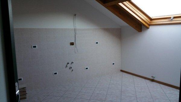 d4 mansarda alloggio trilocale residenza le magnolie casa vacanza molino nuovo andora bagno