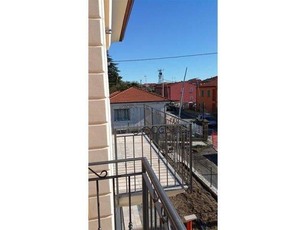 Vista sui due terrazzi