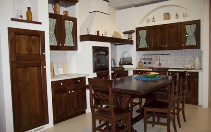 mobili in legno cucina