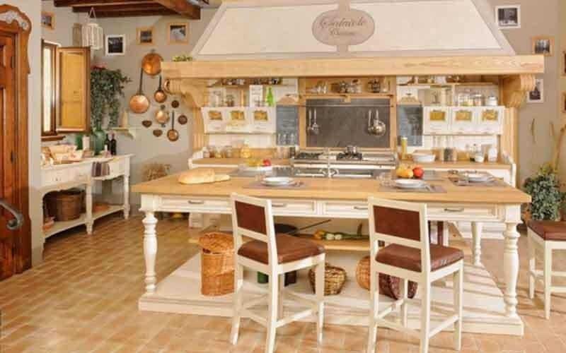 mobili cucine rustiche