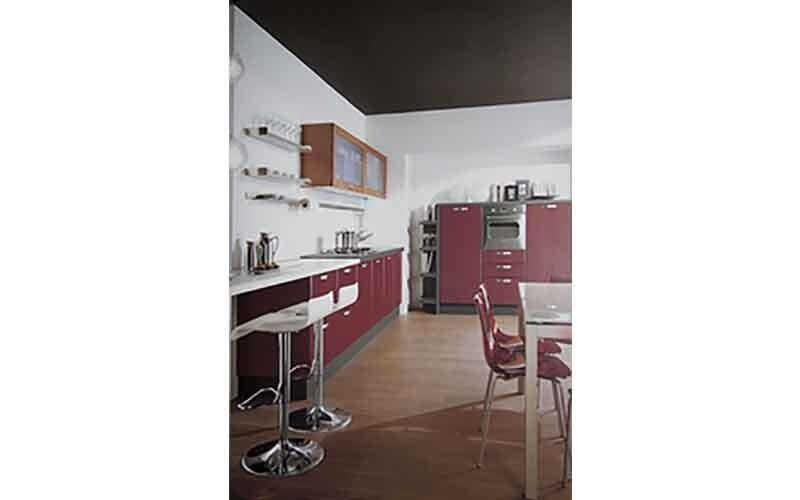 vendita cucina rossa
