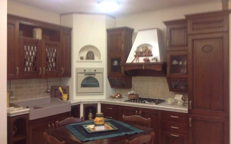 mobili cucina rustica