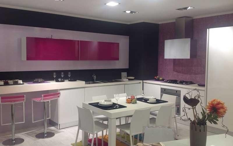 vendita cucina moderna bianca