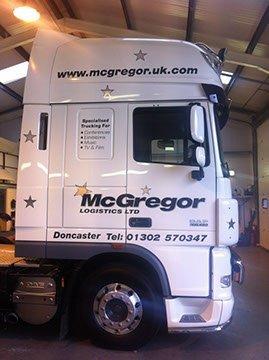 McGregor carrier bus