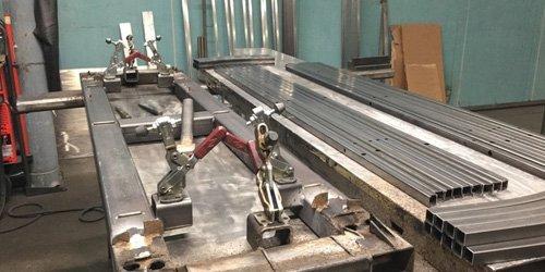 Saldatura mig Bimea Steel a Treviso