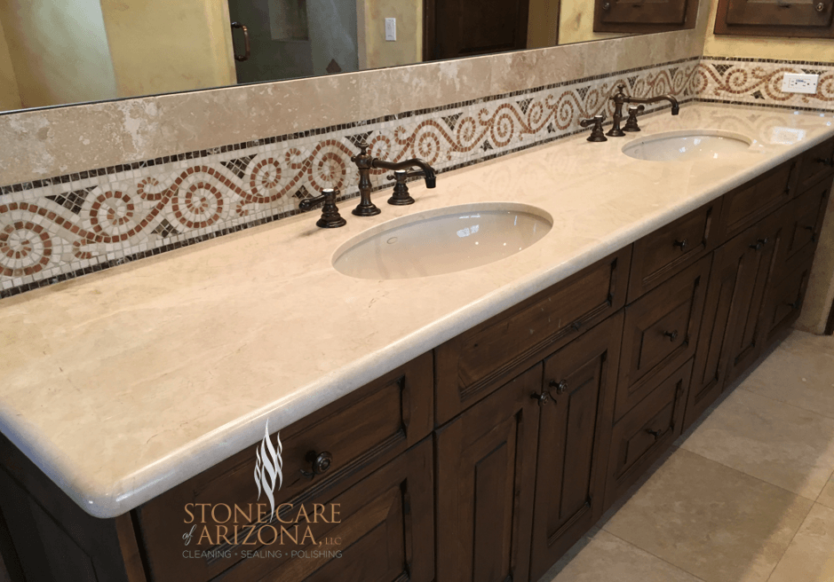 Marble Counter Top Refinishing