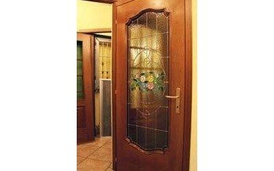 porte interne con vetrate artistiche