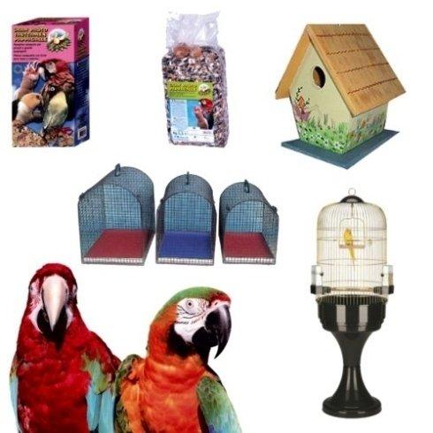 Hai un pappagallo, un canarino o un altro uccello? Trova tutto quello che ti serve presso l