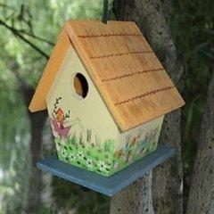 Ucceli, Casetta per uccelli
