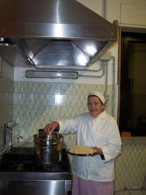 Gina in cucina