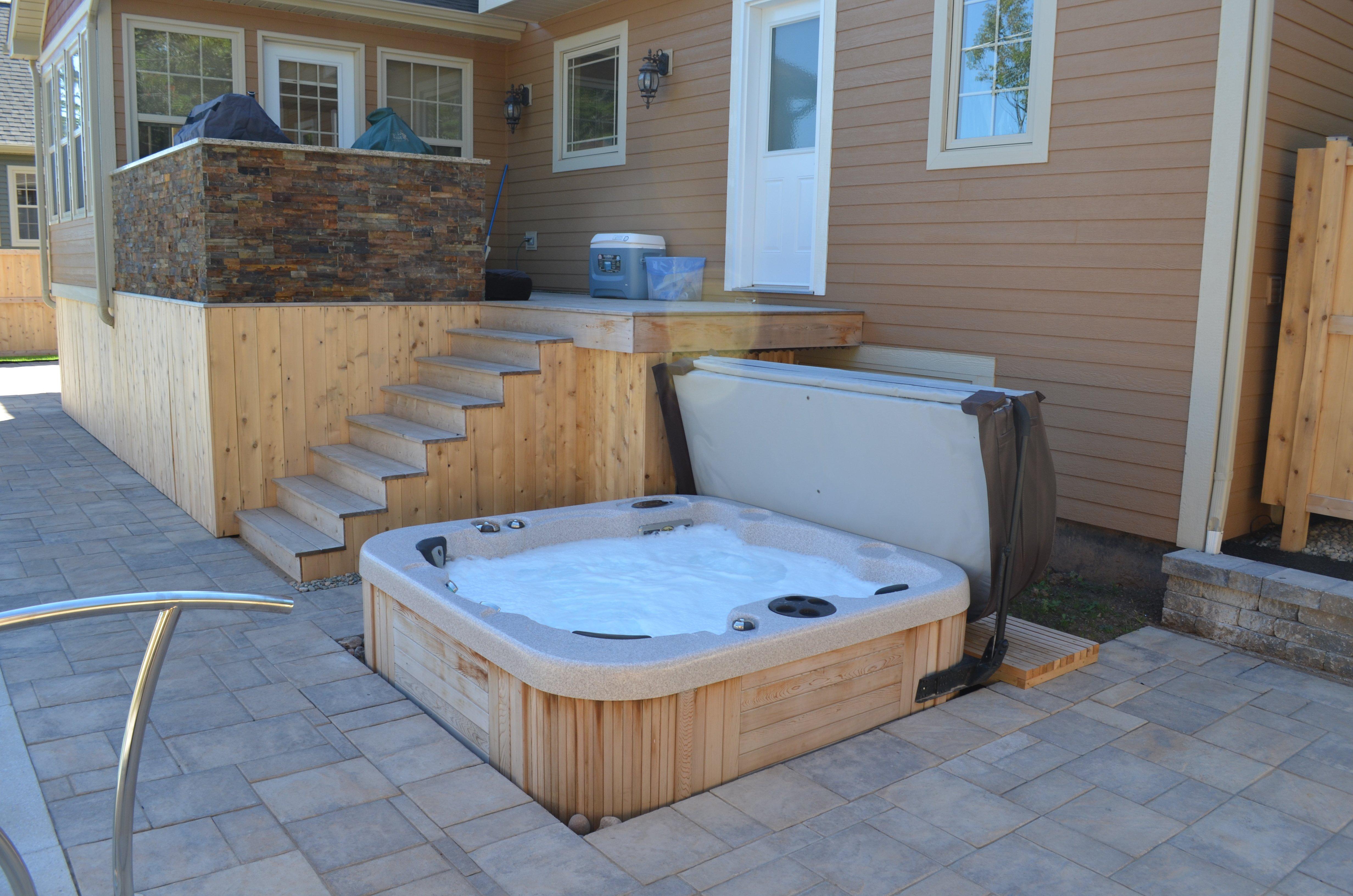Hot tub design for Designer hot tubs