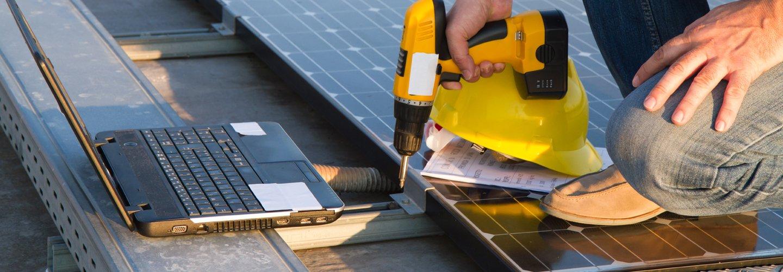 Installazione dell'impianto fotovoltaico