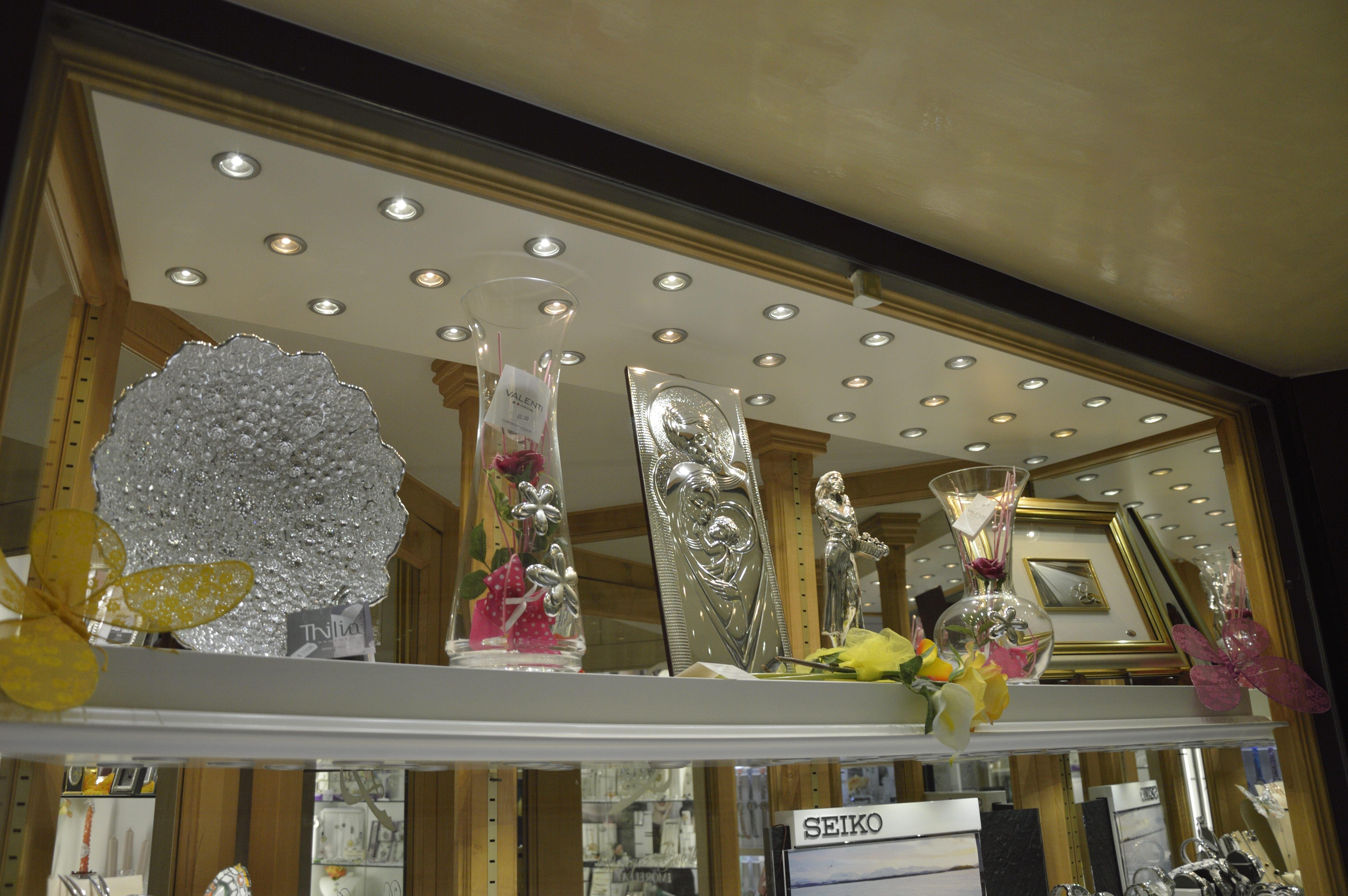 Coppe e trofei in vetrina
