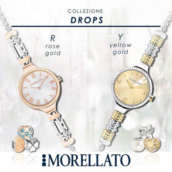 due orologi eleganti da donna MORELLATO in argento e oro
