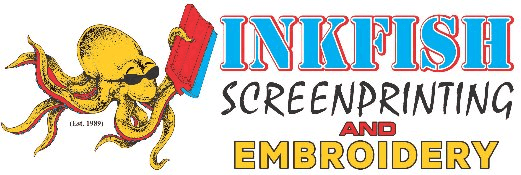 Inkfish Screen printing logo