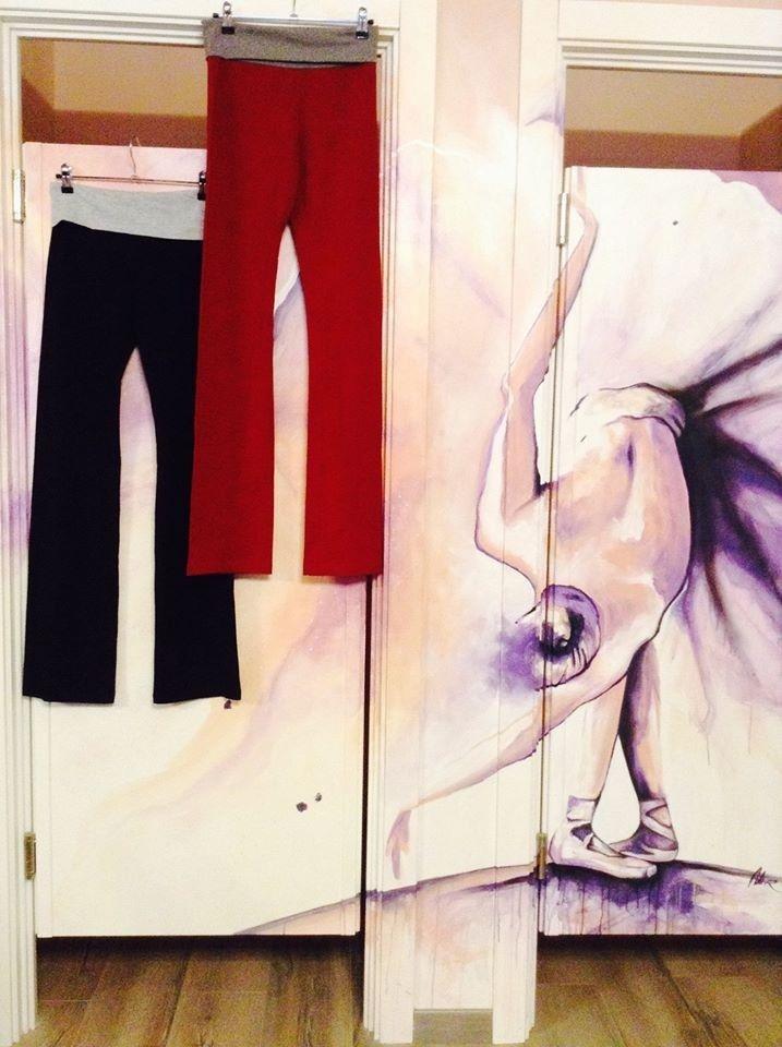 pantaloni danza moderna roma