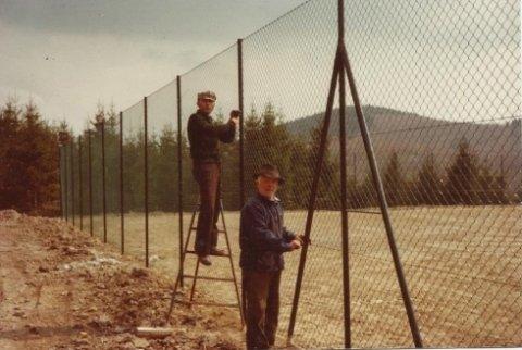 Posa recinzioni