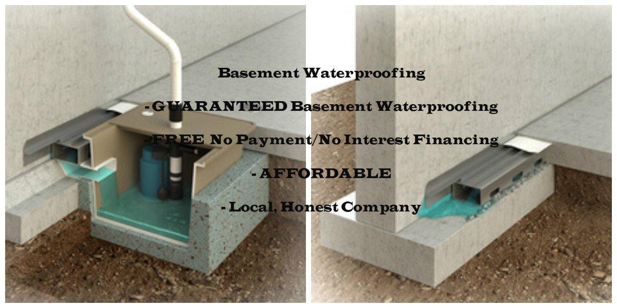 water trek basement waterproofing in rochester ny basement