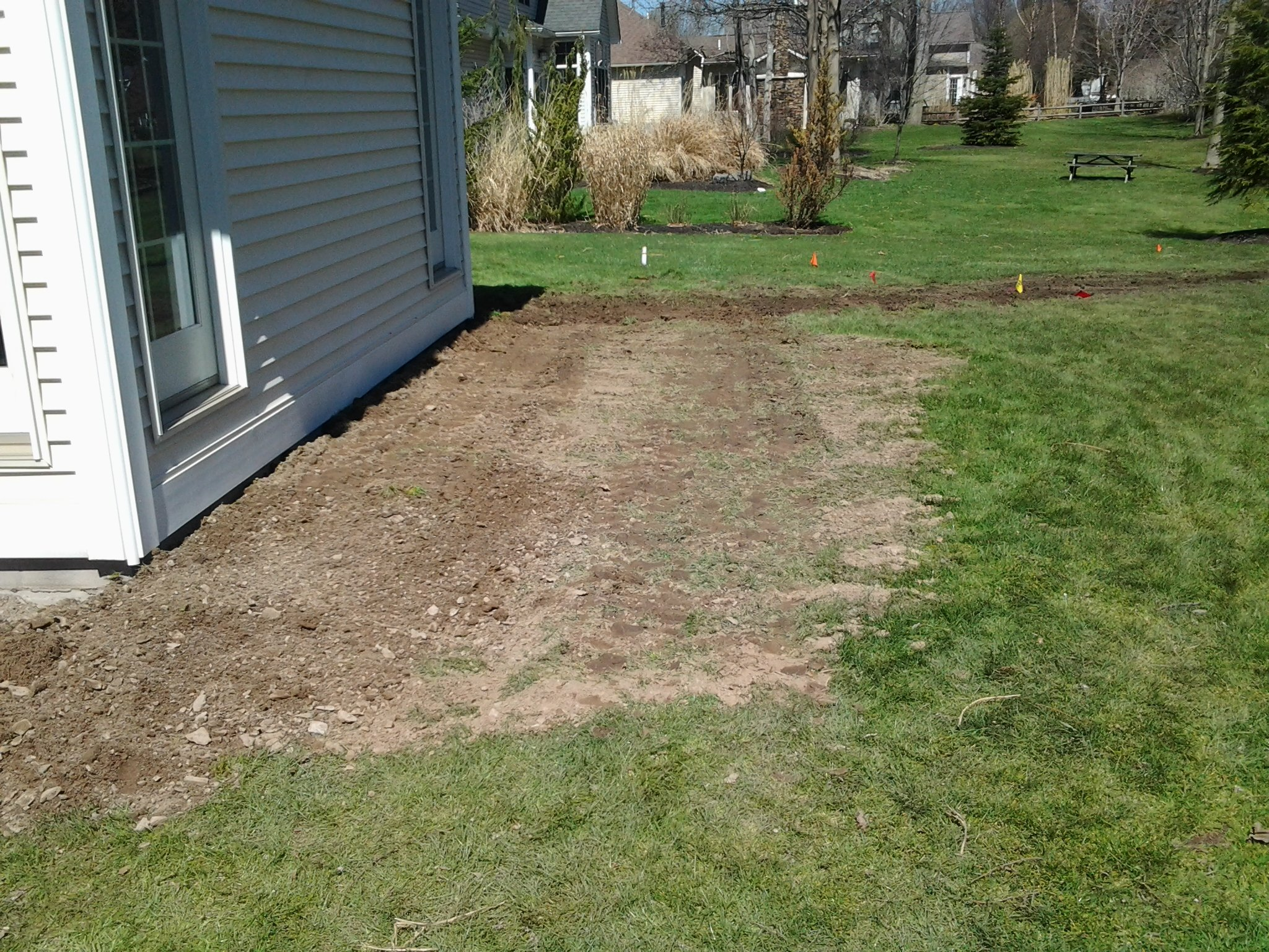yard drainage in rochester ny basement technologies of wny inc