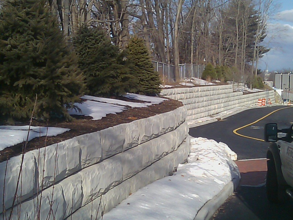 Building Retaining Walls in Rochester, NY