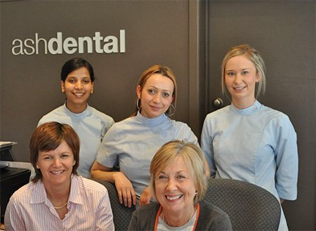 ash dental surgery meet the team