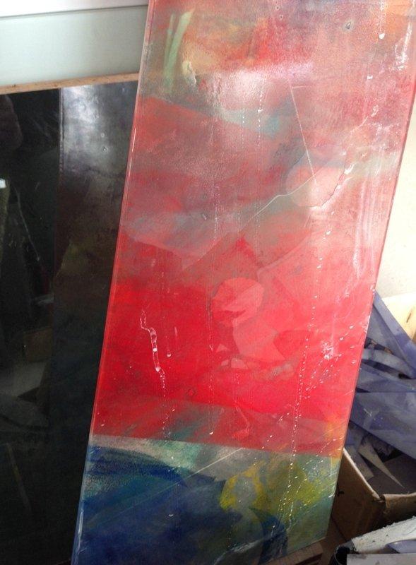 Fusioni e decorazioni sabbiate su vetri