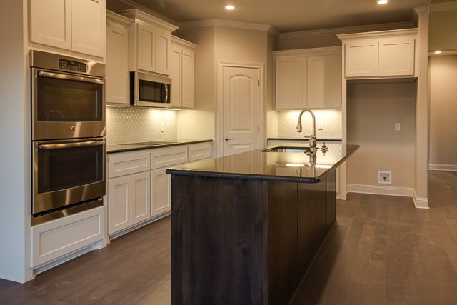 kitchen in a custom home built by Cornerstone Custom Homes in Abeline, TX