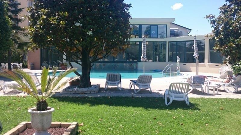 Schwimmbad im Freien Thermen San Lorenzo