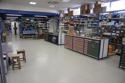 Vista interna magazzino