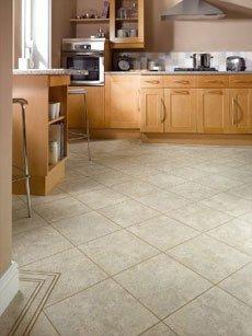 tiled flooring