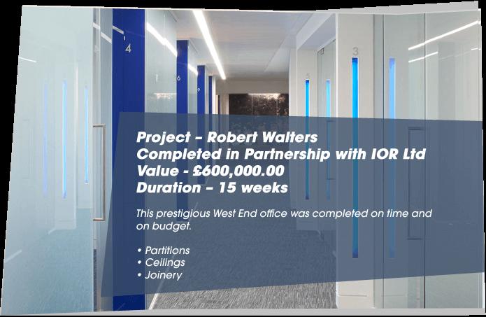 Robert Walters project details