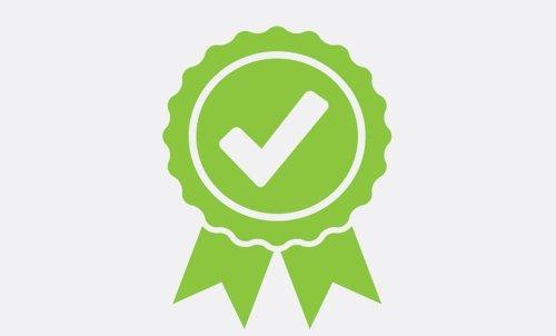 Logo di certificazione di qualità