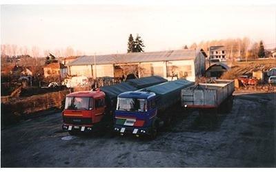 Camion cisternati