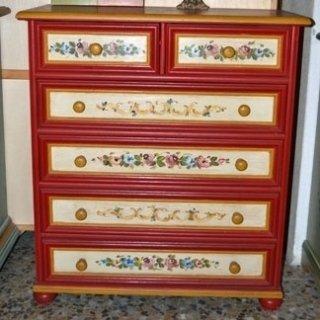 cassettiere decorate