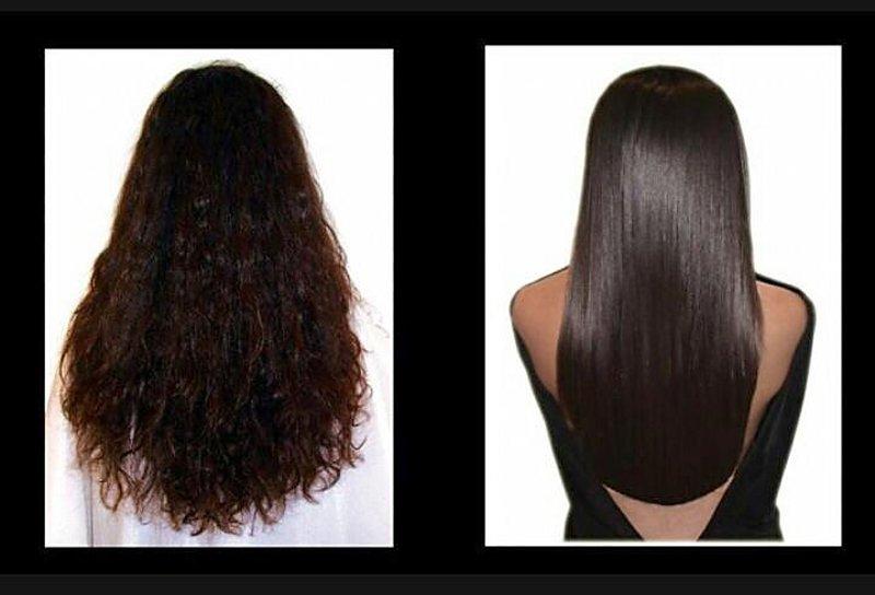 capelli ricci e capelli lisci
