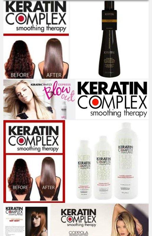 pubblicità KERATIN COMPLEX