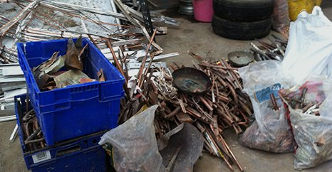 scrap metal collection service