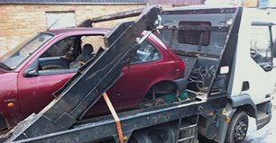 scrap car collection