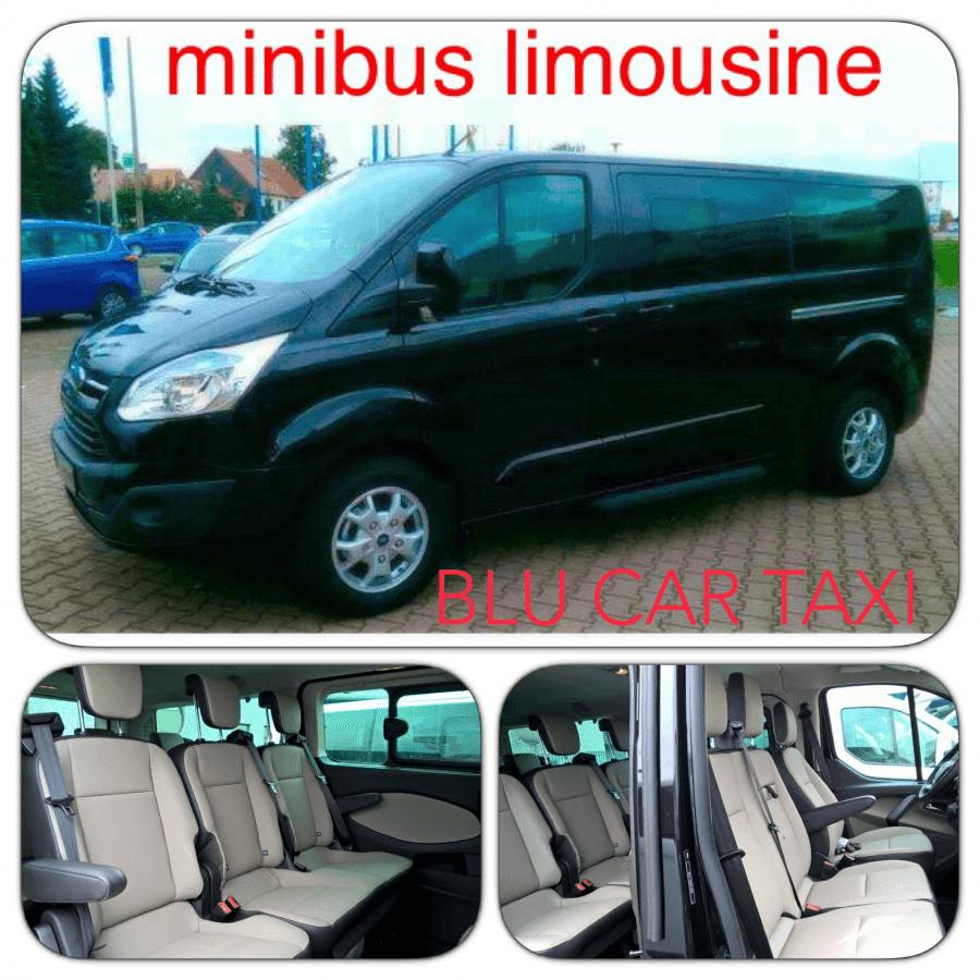 Varie prospettive di un minibus limousine