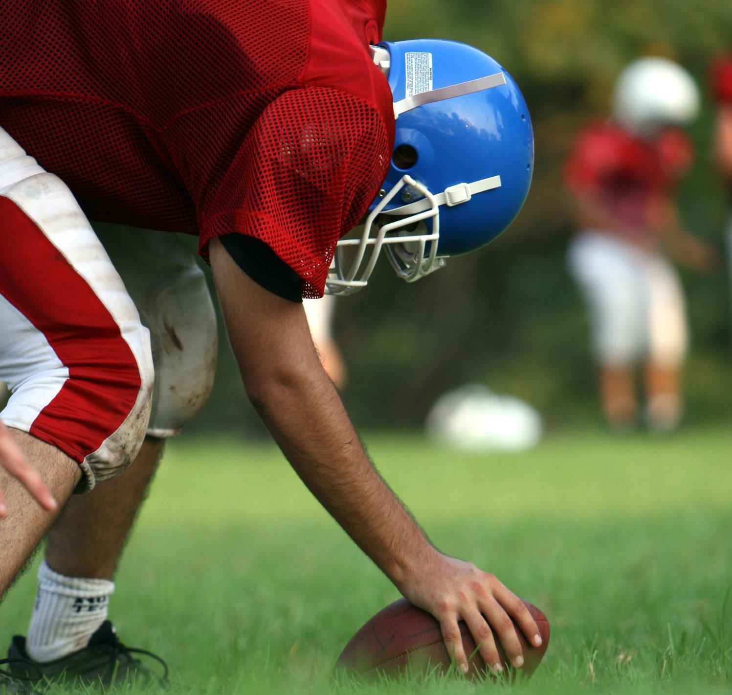 sports football injury helmet youth