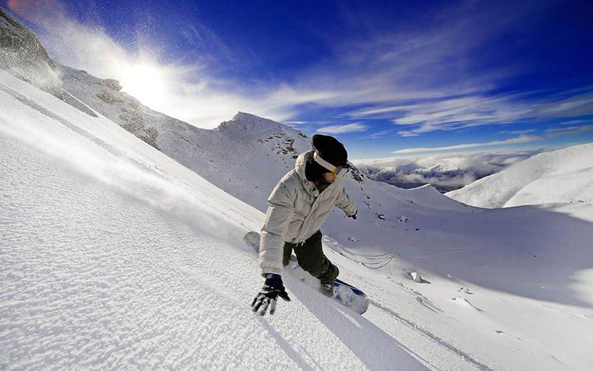 massage winter sports snowboard