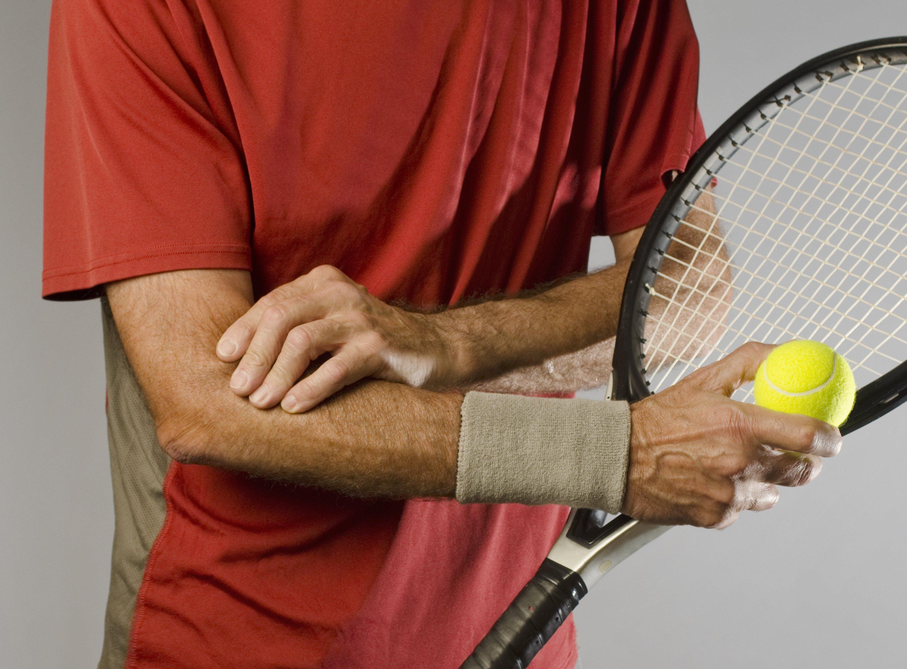 tennis elbow athletes pain relief