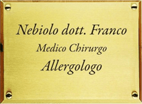 NEBIOLO DOTT. FRANCO ALLERGO - LOGO