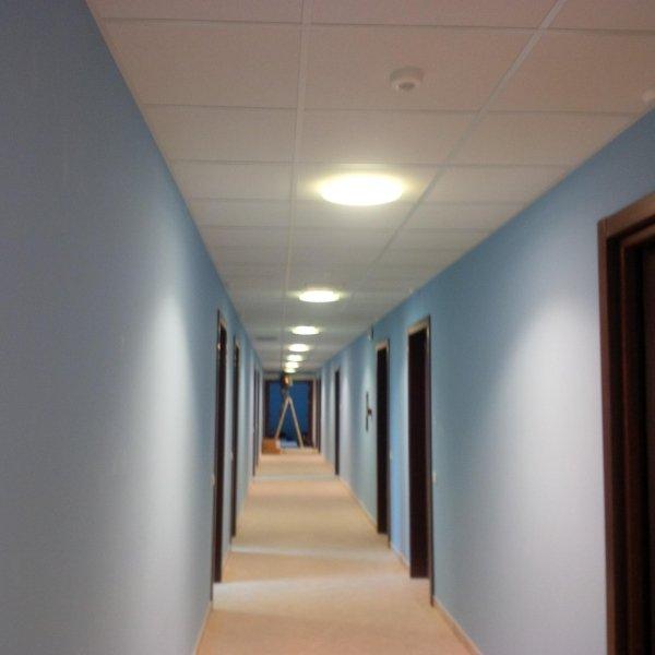 il corridoio di un ufficio