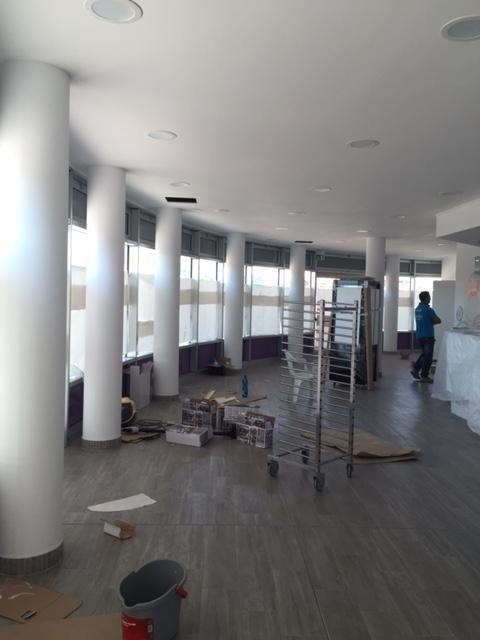 colonne interne di una sala