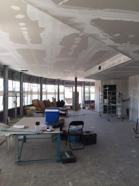 soffitto in ristrutturazione