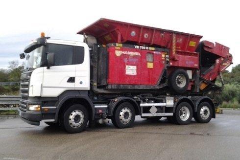 camion trasporto rifiuti