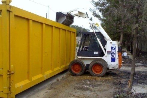 cassoni per raccolta rifiuti