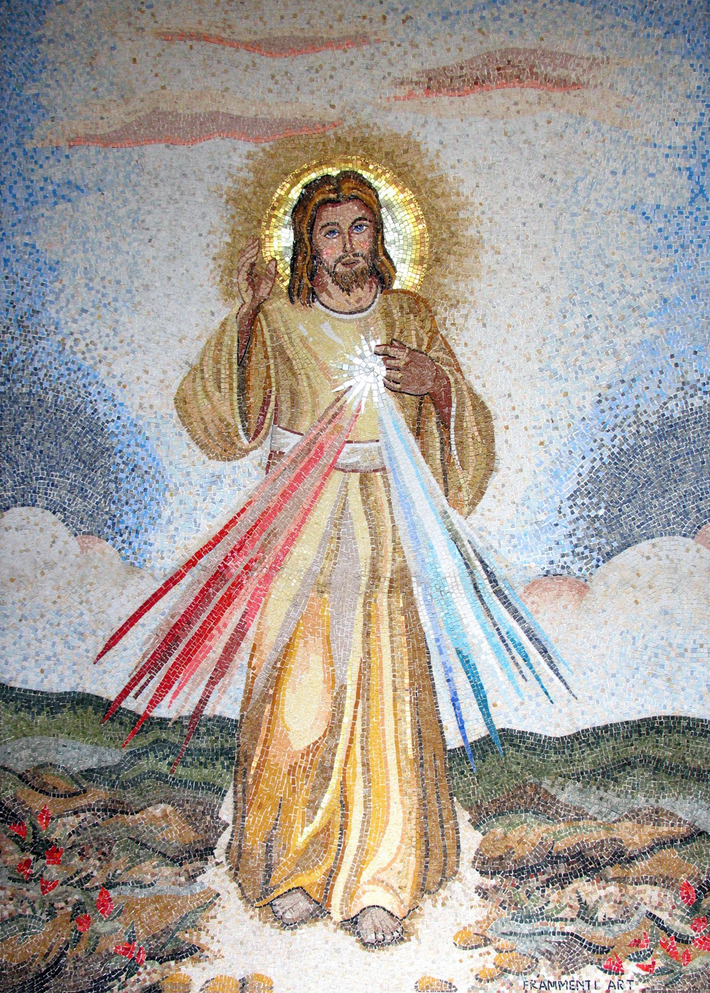 mosaico di Gesù