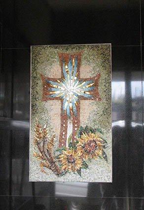 mosaico di una croce